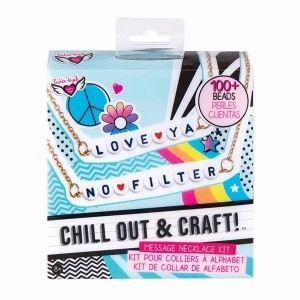 FASHION ANGELS CHILL &  CRAFT MESSAGE NECKLACE KIT