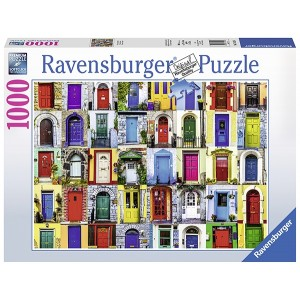 1000PC PUZZLES-DOORS OF THE WORLD
