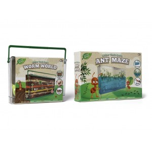 CREATIVE SPROUTS-ANT MAZE AND WORM WORLD ASST