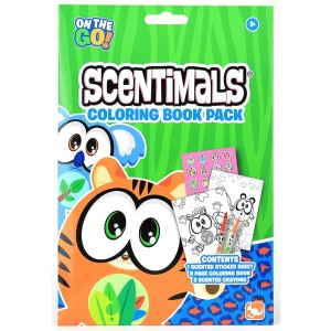 SCENTIMALS ON THE GO COLORING PACK