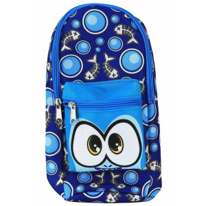 SCENTIMALS STATIONERY BACKPACK PENCIL CASE ASST