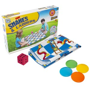FUN HUB-GIANT SNAKES AND LADDERS