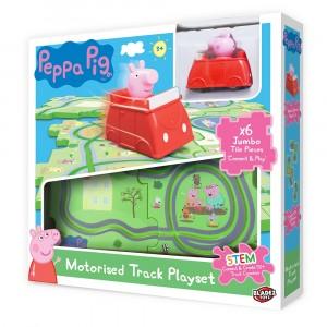 PEPPA PIG-TILE MOTORISED TRACK PLAYSET