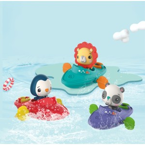 FISHER PRICE KAYAKS WIND UP REMOVABLE FIGURE ASST