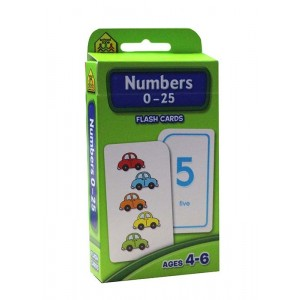 FLASH CARDS-NUMBERS 0-25