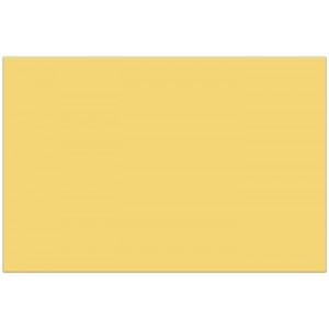 PLASTIC TABLE COVER 120X180CM BUTTER YELLOW 1CT
