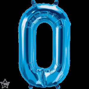 16 INCH FOIL NUMBER 0 BLUE 1CTP
