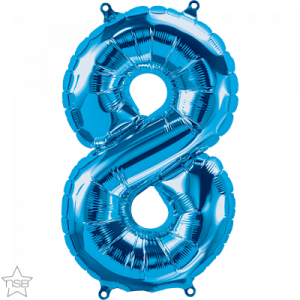 16 IN BLUE NUMBER 8 AIR FILLED 1CTP
