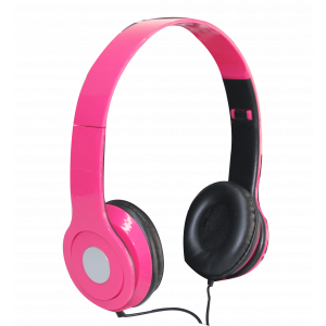 AV ELECTRONICS HEADPHONES PINK
