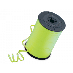 RIBBON SOLID 5MMX450M LIME GREEN 1CTL