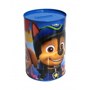 PAW PATROL-TIN COIN BANK