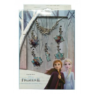 FROZEN 2 - METAL BRACELET ACCESSORIES SET