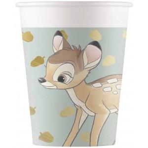 BAMBIE CUTIE PAPER CUPS 200ML  8CT