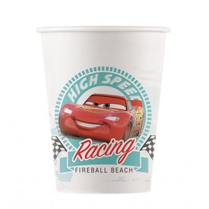 ECO CARS HIGH SPEED IND COMPOST PPR CUPS 200ML 8CT