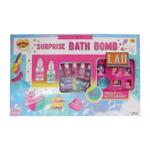 GROOVY LABZ MEGA DELUXE BATH BOMB SURPRISE KIT