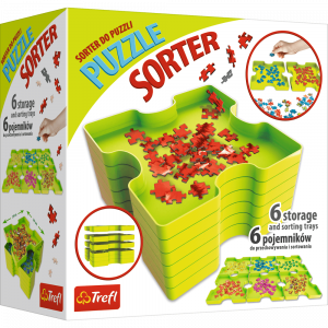TREFL PUZZLE STORAGE AND SORTER TRAYS