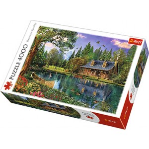 TREFL-4000 PC PUZZLE AFTERNOON IDYLL
