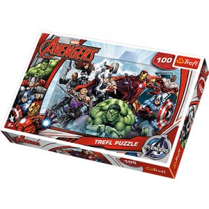 TREFL-100 PC PUZZLES AVENGERS LETS ATTACK