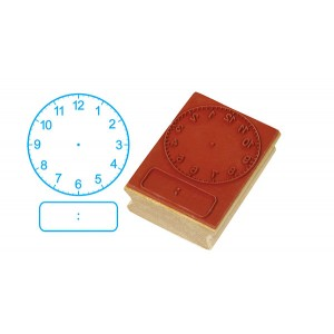 TFC-STAMP CLOCK DIGITAL/ANALOGUE HRS&MNS (50MM) 1P