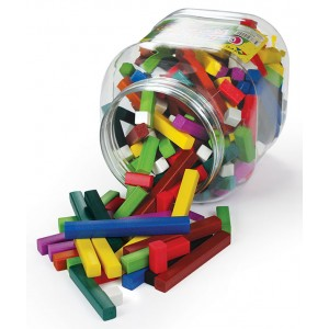 TFC-COLOURED RODS PLASTIC 241P