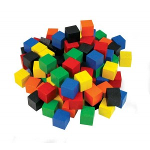 TFC-CUBES 2CM WOOD COLOURED 102P