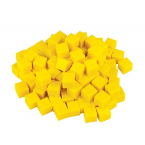 TFC-BASE 10 BASE TEN UNITS YELLOW 100P