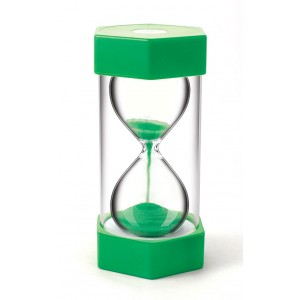 TFC-SAND TIMER GIANT 1 MINUTE - GREEN 1P