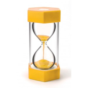 TFC-SAND TIMER GIANT 3 MINUTES - YELLOW 1P