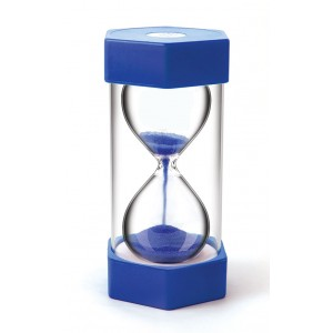TFC-SAND TIMER GIANT 5 MINUTES - BLUE 1P