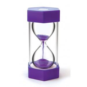 TFC-SAND TIMER GIANT 15 MINUTES - PURPLE 1P