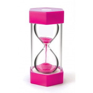 TFC-SAND TIMER GIANT 2 MINUTES - PINK 1P