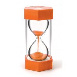 TFC-SAND TIMER GIANT 10 MINUTES - ORANGE 1P