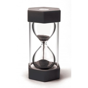 TFC-SAND TIMER GIANT 30 MINUTES - BLACK 1P