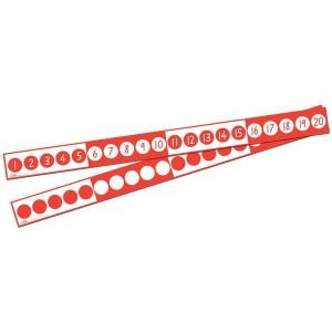 TFC-NUMBER LINE STRIPS 1-20 10P