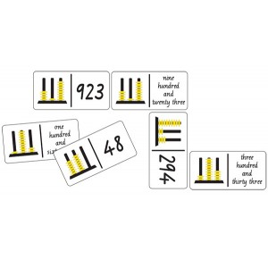 TFC-DOMINOES ABACUS NUMBERS 28P
