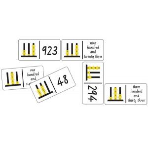 TFC-DOMINOES ABACUS NUMBERS 28P
