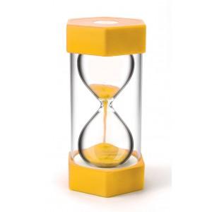 TFC-SAND TIMER MEGA 3 MINUTES - YELLOW 1P