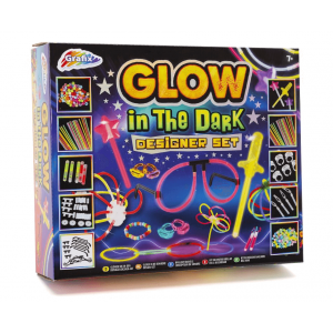 GLOW-GLOW IN THE DARK DESIGNER SET