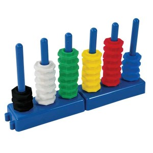 TFC-PLACE VALUE ABACUS SET 56P