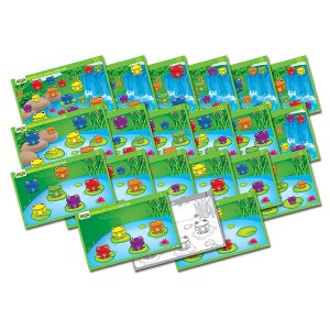 TFC-FAB FROGS ACTIVITY CARDS MATCHING&COUNTING 20P