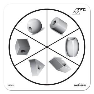 TFC-SWAP + SPIN INSERT BEAUT BEADS SHAPE 1P