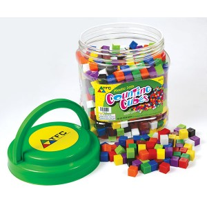 TFC-CUBES 1CM COUNTING PLASTIC 1000P