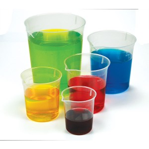 TFC-MEASURING BEAKERS 5P