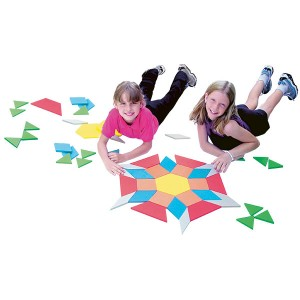 TFC-PATTERN BLOCKS JUMBO FOAM 49P