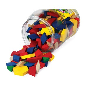 TFC-PATTERN BLOCKS WOOD 250P