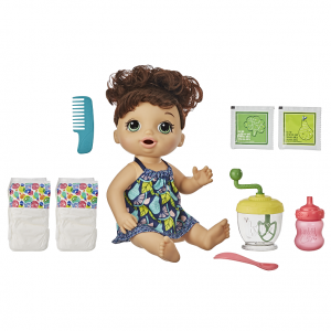BABY ALIVE SWEET SPOONFULS BR HAIR