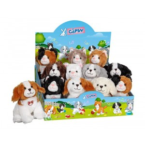 KITTY PUPS WITH SOUND 18 CM -12 IN CDU