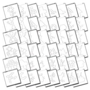 TFC-PATTERN BLOCK ACTIVITY CARDS 24P