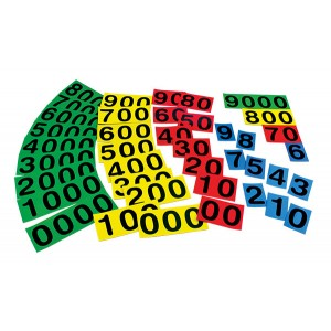 TFC-NUMBER BUILDERS MAGNETIC 40P