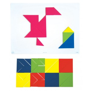 TFC-TANGRAM MAGNETIC 4 SETS 28P